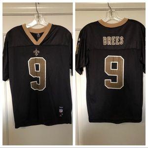 Reebok Drew Brees saints jersey Sz: L 14/16